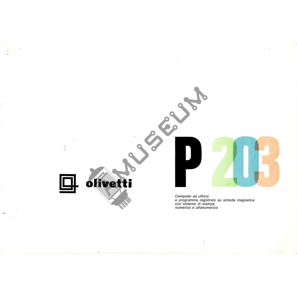 olivetti programma p203